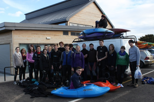 Durham Uni Canoe Club Visit Oct 12