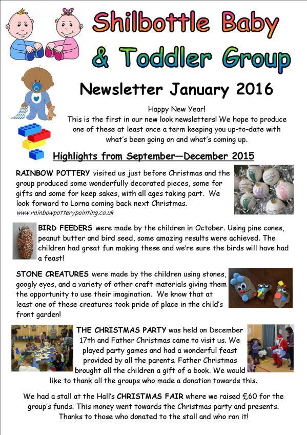 Newsletter January 2016 p1