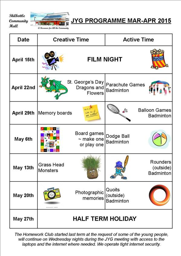 Programme Apr - May 2015